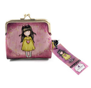 "Heartfelt 4"" Clasp Purse by Gorjuss Thumbnail 2"