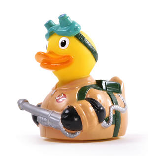 Goosebusters Rubber Duck - Celebriduck for Ghostbusters Fans Thumbnail 1