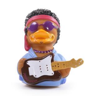 Purple Waves Rubber Duck - Celebriduck for Jimi Hendrix Fans Thumbnail 2
