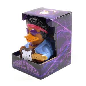 Purple Waves Rubber Duck - Celebriduck for Jimi Hendrix Fans Thumbnail 4