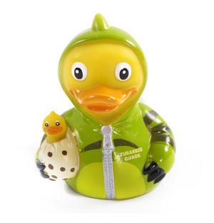 Jurassic Quack Rubber Duck - Celebriduck for Jurassic Park Dinosaur Fans Thumbnail 1