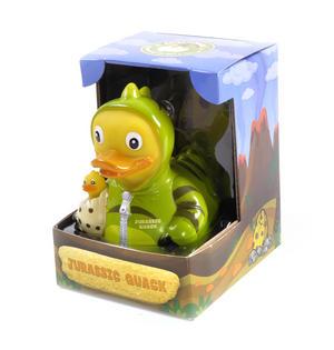 Jurassic Quack Rubber Duck - Celebriduck for Jurassic Park Dinosaur Fans Thumbnail 2