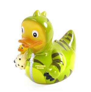 Jurassic Quack Rubber Duck - Celebriduck for Jurassic Park Dinosaur Fans Thumbnail 4