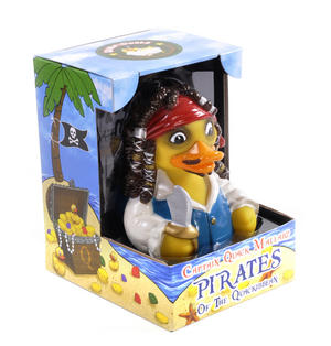 Pirates of the Quackibbean Rubber Duck - Celebriduck for Captain Jack Pirates of the Caribbean Fans Thumbnail 2