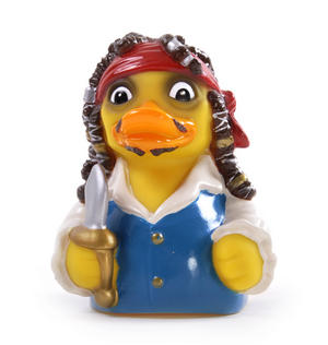 Pirates of the Quackibbean Rubber Duck - Celebriduck for Captain Jack Pirates of the Caribbean Fans Thumbnail 4