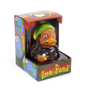 One Pond Rubber Duck - Celebriduck for Bob Marley Fans Thumbnail 4