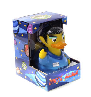Mister Squawk Rubber Duck - Celebriduck for Star Trek Fans Thumbnail 4