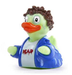 Floating Dead Rubber Duck - Celebriduck for Walking Dead Zombie Fans Thumbnail 3