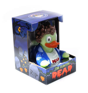 Floating Dead Rubber Duck - Celebriduck for Walking Dead Zombie Fans Thumbnail 4