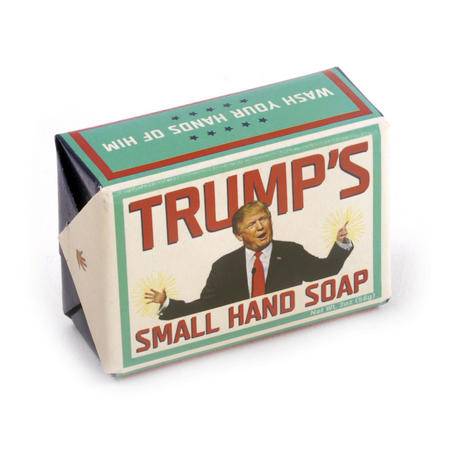 Trump's Small Hand Soap - Donald Trump Soap for Dirty Politics