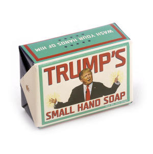 Trump's Small Hand Soap - Donald Trump Soap for Dirty Politics Thumbnail 1