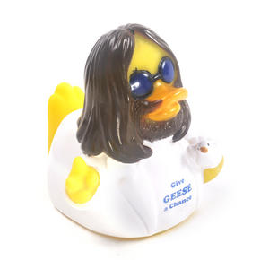 Give Geese a Chance Rubber Duck - Celebriduck for John Lennon Beatles Fans Thumbnail 3