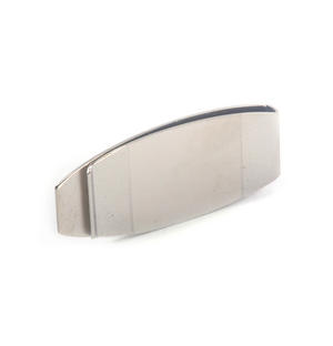 Polished / Brushed Steel Detail Classic Money Clip Thumbnail 3