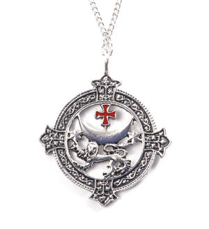 Knight Templar Talisman Pendant - Templar Lion  KT2 Thumbnail 1