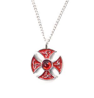 Knight Templar Talisman Pendant - Consecration Cross KT15 Thumbnail 1
