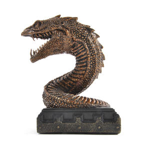 Harry Potter Basilisk Bookend Noble Collection Thumbnail 2