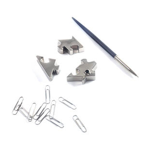 House Jigsaw - Magnetic Pen Holder Desk Organiser Thumbnail 3