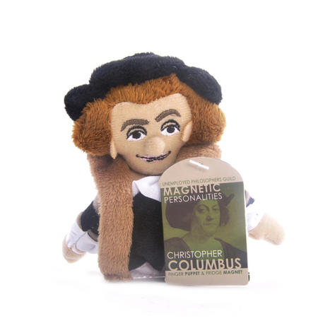 Christopher Columbus Finger Puppet & Fridge Magnet