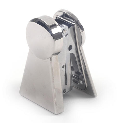 Keyhole Polished Steel Stapler
