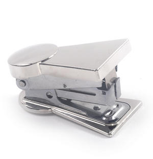 Keyhole Polished Steel Stapler Thumbnail 2