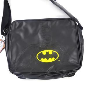 Batman Embossed Silhouette and Logo Shoulder Bag Thumbnail 3