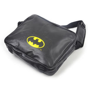 Batman Embossed Silhouette and Logo Shoulder Bag Thumbnail 4