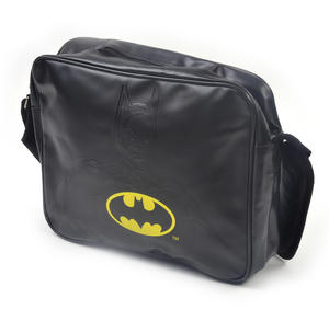 Batman Embossed Silhouette and Logo Shoulder Bag Thumbnail 8