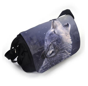 Ascending Song - 40cm Wolf Messenger Bag