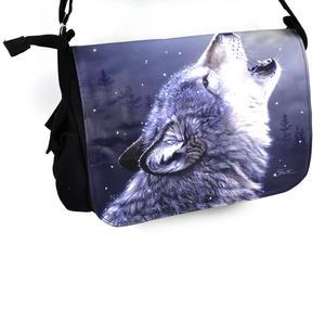 Ascending Song - 40cm Wolf Messenger Bag Thumbnail 3