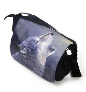 Ascending Song - 40cm Wolf Messenger Bag Thumbnail 5