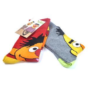 Sesame Street Bert & Ernie Muppet Socks Thumbnail 1