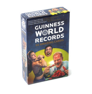 Guinness World Records - 52 Amazing Cards Thumbnail 1