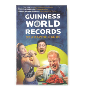 Guinness World Records - 52 Amazing Cards Thumbnail 2