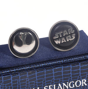 Cufflinks - Star Wars Rebel Alliance by Royal Selangor Thumbnail 2