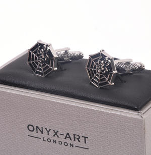 Cufflinks - Spider and Web Thumbnail 1