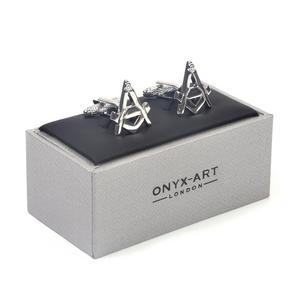 Cufflinks - Masonic Compass and Dividers Thumbnail 5