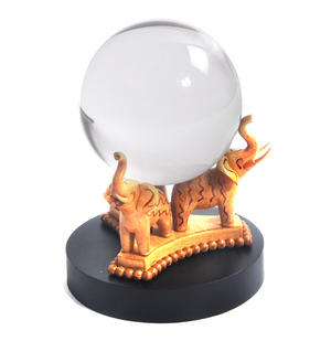 Harry Potter Replica Divination Crystal Ball Noble Collection Thumbnail 1
