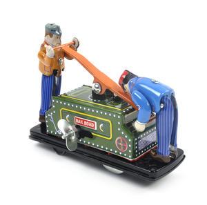 Railroad Handcar - Classic Clockwork Collector's Toy Thumbnail 3