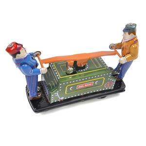 Railroad Handcar - Classic Clockwork Collector's Toy Thumbnail 4