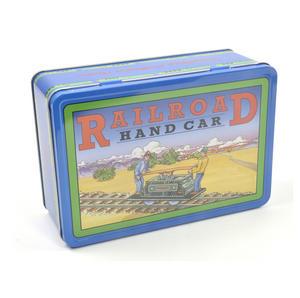 Railroad Handcar - Classic Clockwork Collector's Toy Thumbnail 5