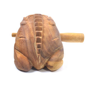 Large Wooden Musical Frog (20 x 10.5 cm) Thumbnail 4