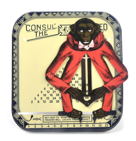Consult the Educated Monkey - Classic Multiplication Calculator Toy