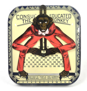 Consult the Educated Monkey - Classic Multiplication Calculator Toy Thumbnail 3