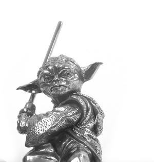 Yoda - Star Wars Ltd Edition Figurine by Royal Selangor Thumbnail 1