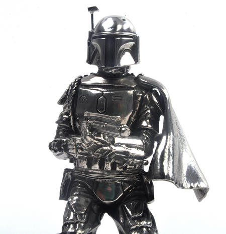 Boba Fett - Star Wars Ltd Edition Figurine by Royal Selangor