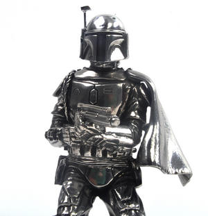 Boba Fett - Star Wars Ltd Edition Figurine by Royal Selangor Thumbnail 1