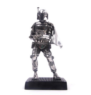 Boba Fett - Star Wars Ltd Edition Figurine by Royal Selangor Thumbnail 2