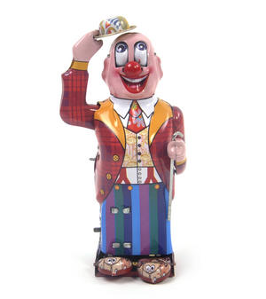 Dandy Clown - Classic Clockwork Collector's Toy Thumbnail 1