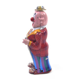Dandy Clown - Classic Clockwork Collector's Toy Thumbnail 5