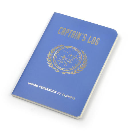 Star Trek Captain's Log Large Notebook